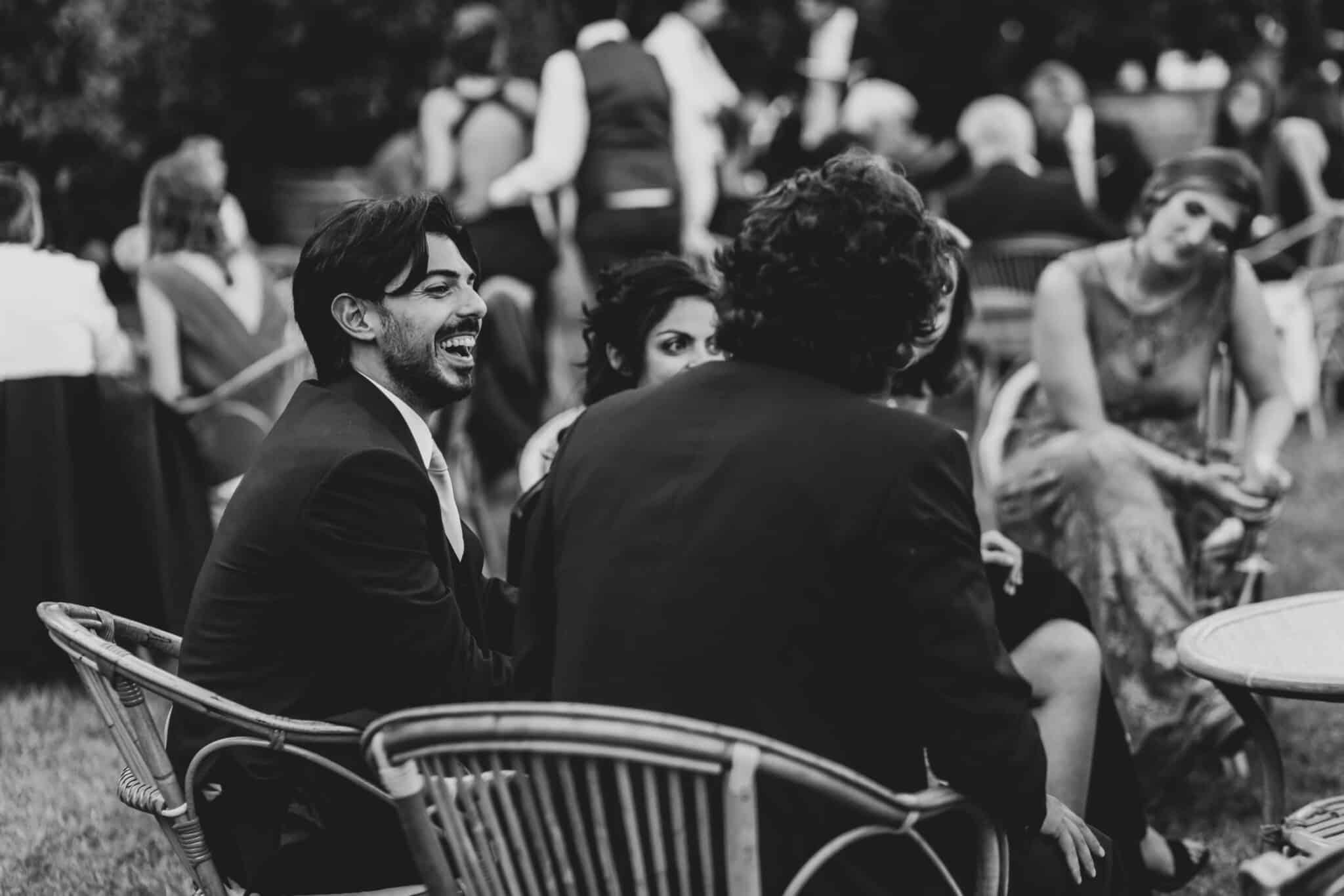 wedding reportage in Villa Grabau