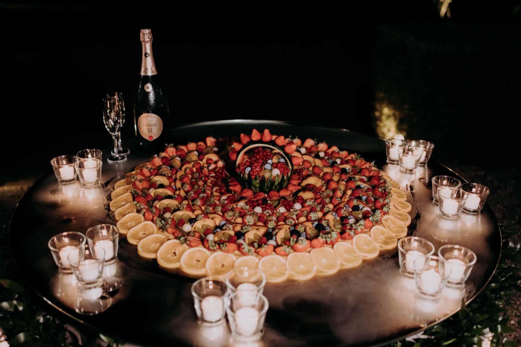 foto della torta a Villa Grabau