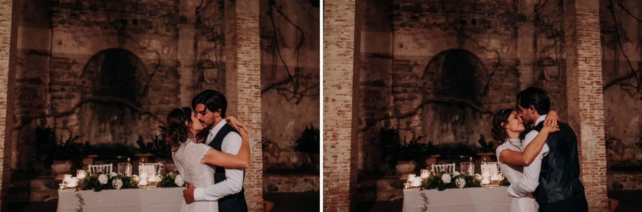 dance at Villa Grabau in Lucca