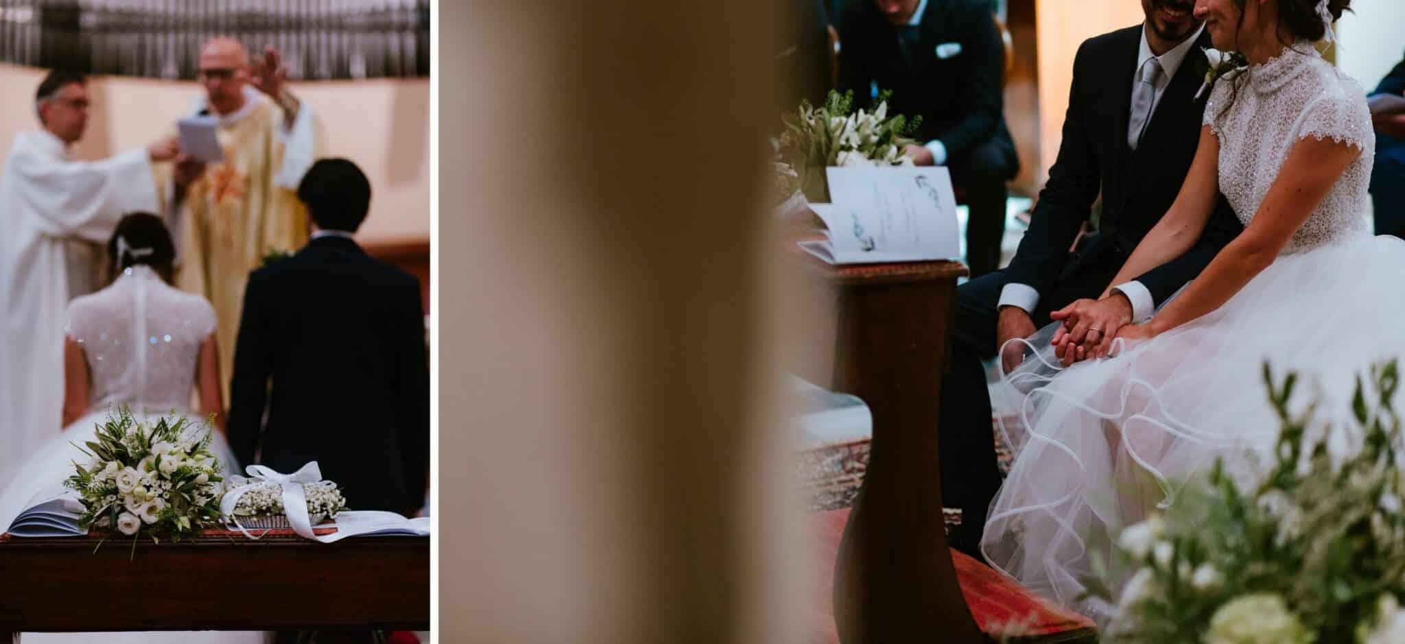 cerimonio di un matrimonio ad Altopascio