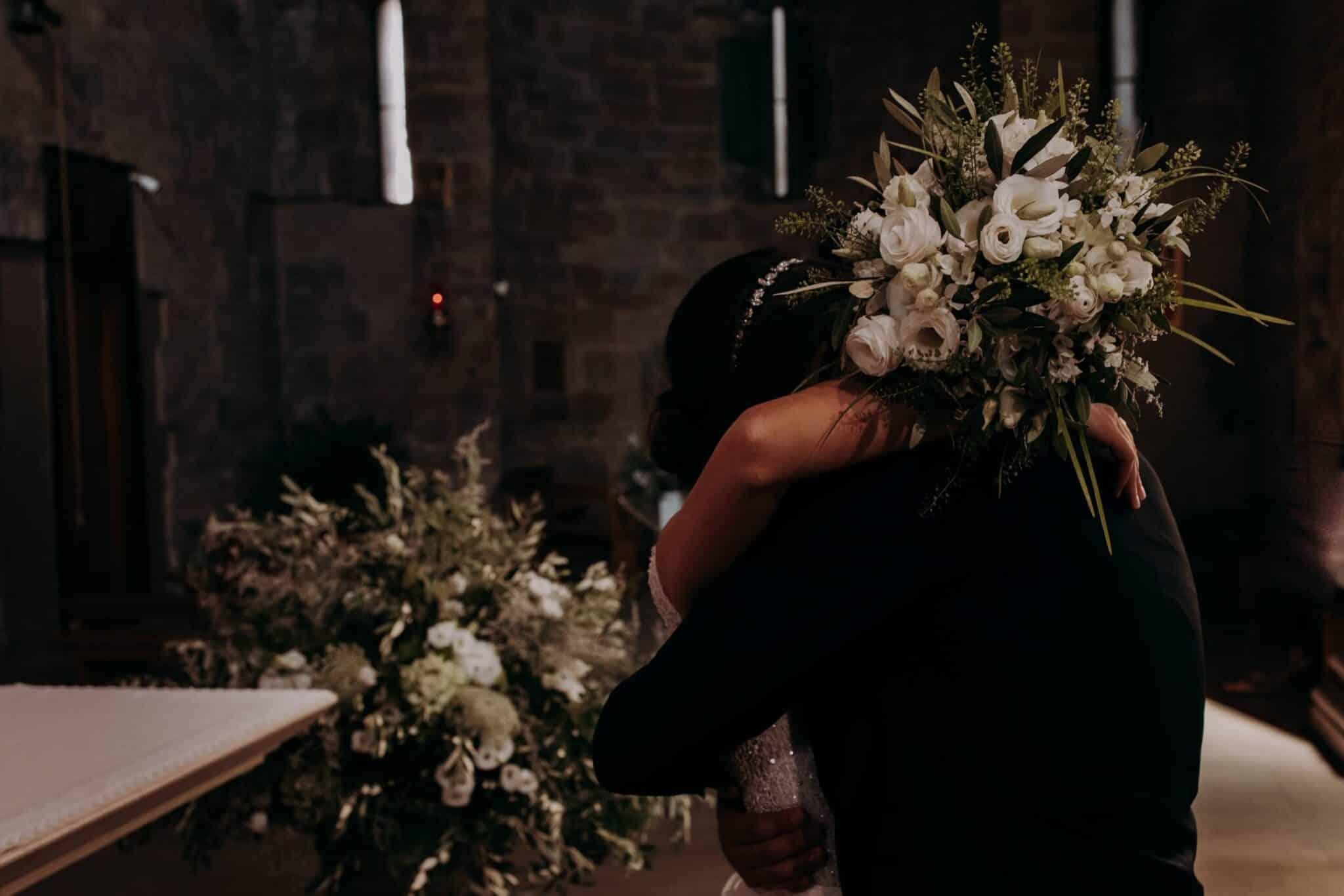 momenti intimi ad un matrimonio ad Altopascio