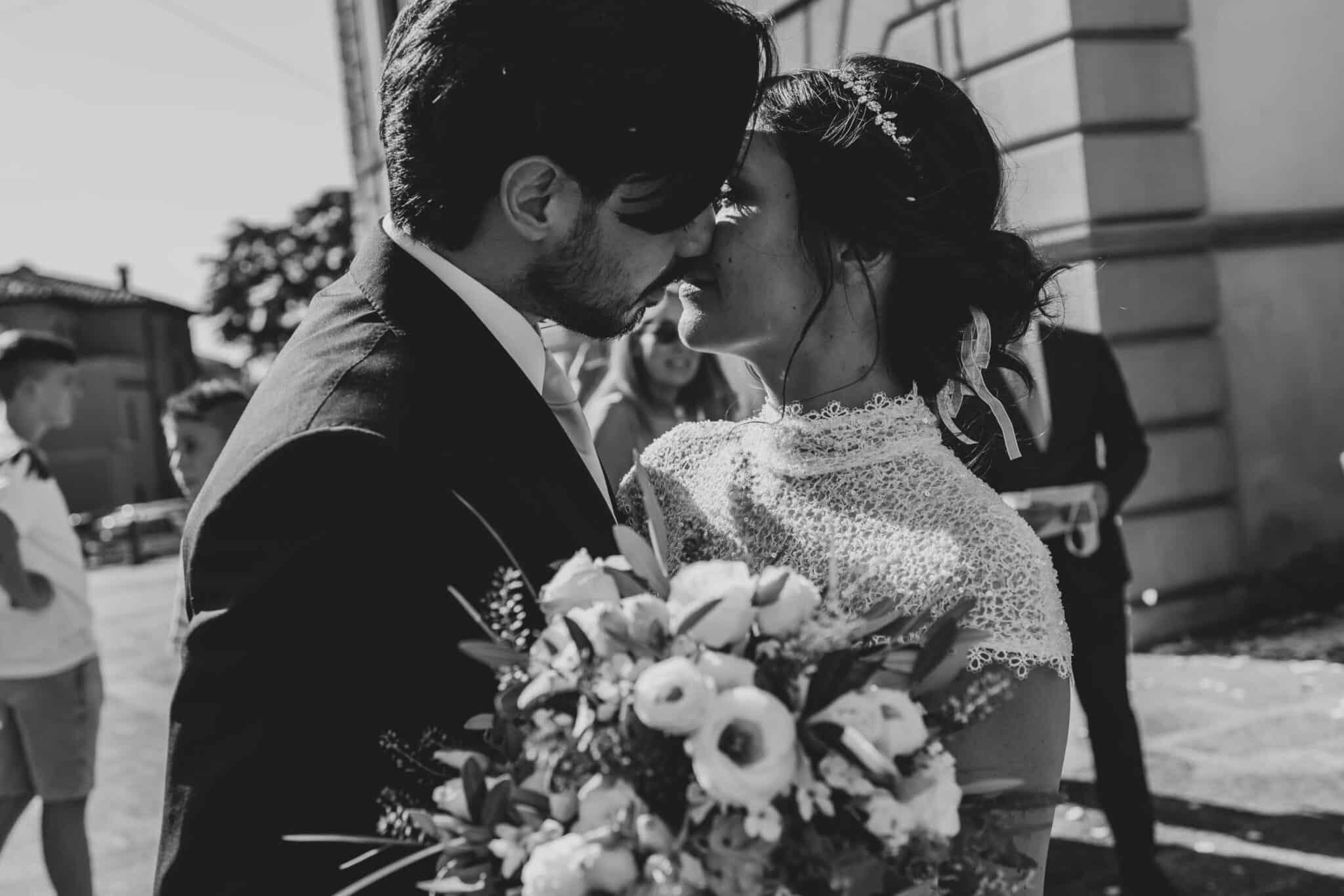 attimi durante un matrimonio ad Altopascio