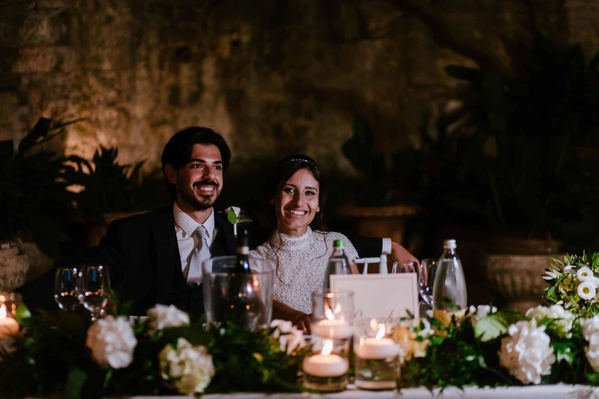 dinner wedding in Villa Grabau