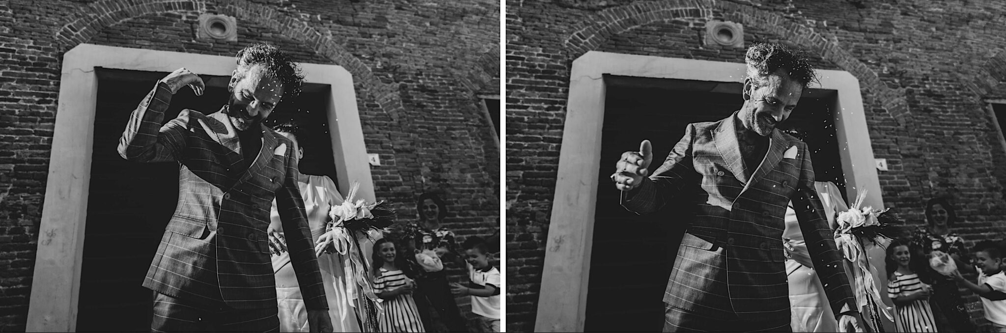 il lancio del riso, Alice Franchi wedding photography