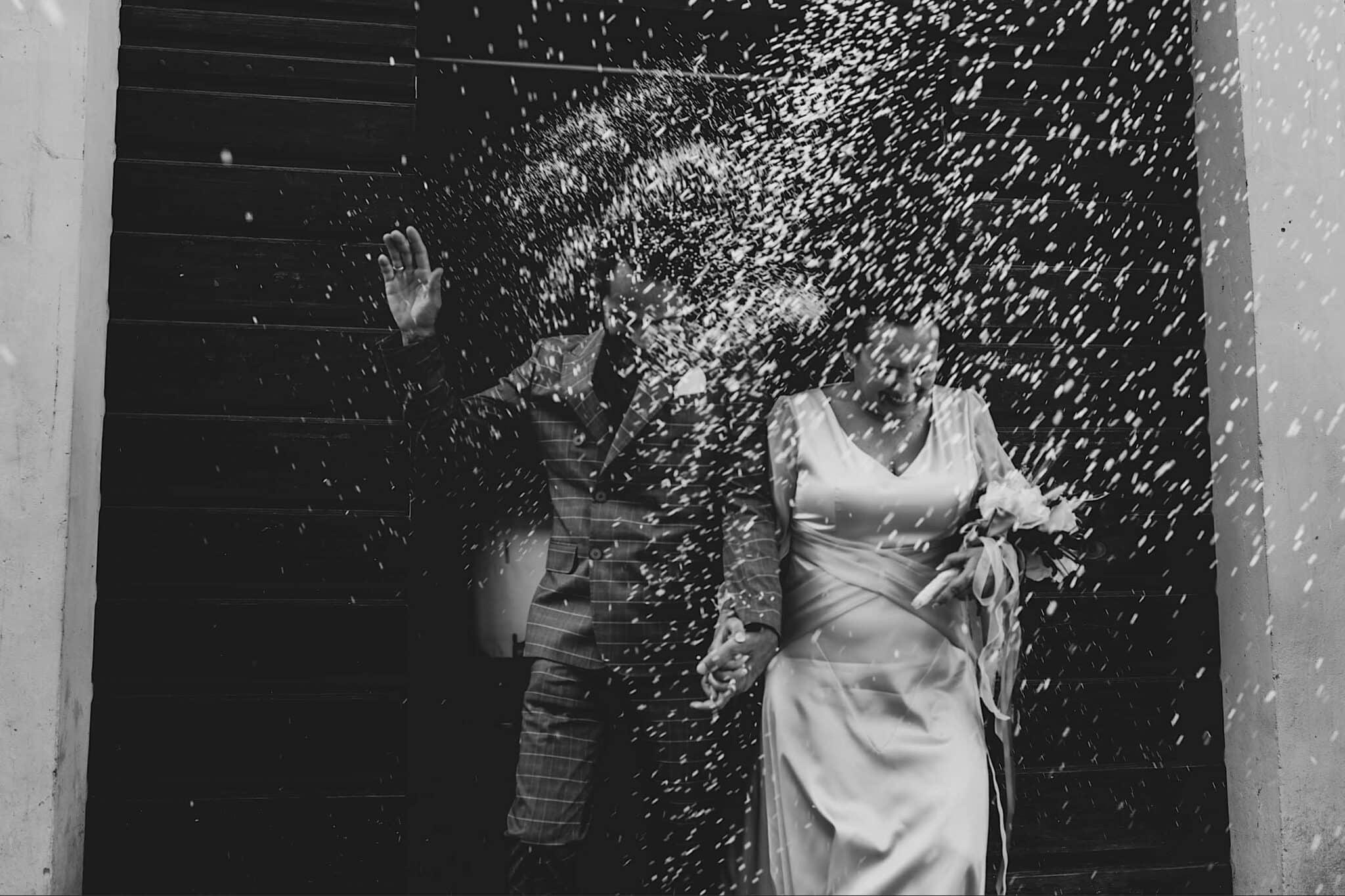 confetti, wedding in Tuscany