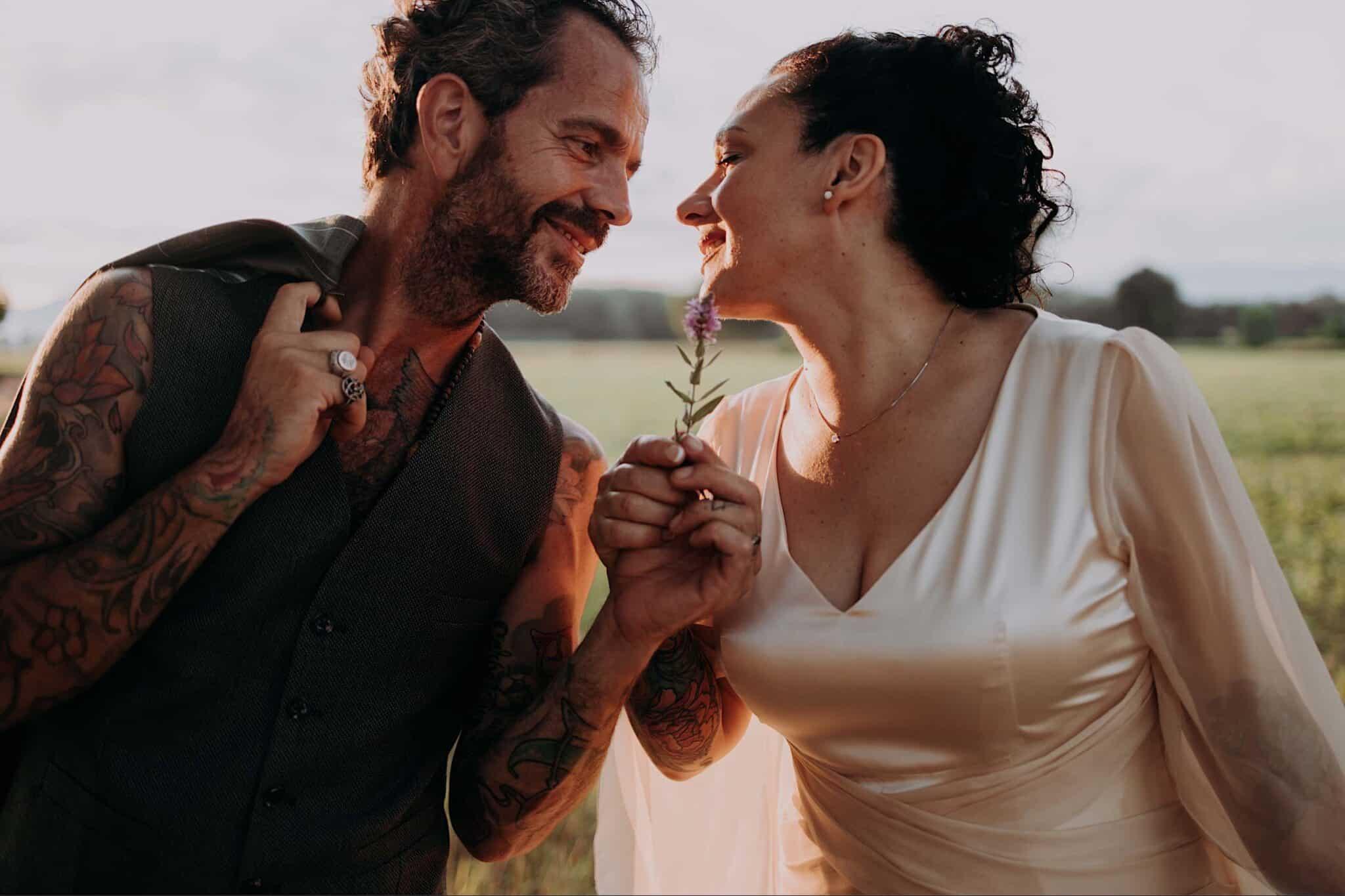 wedding love in Tuscany
