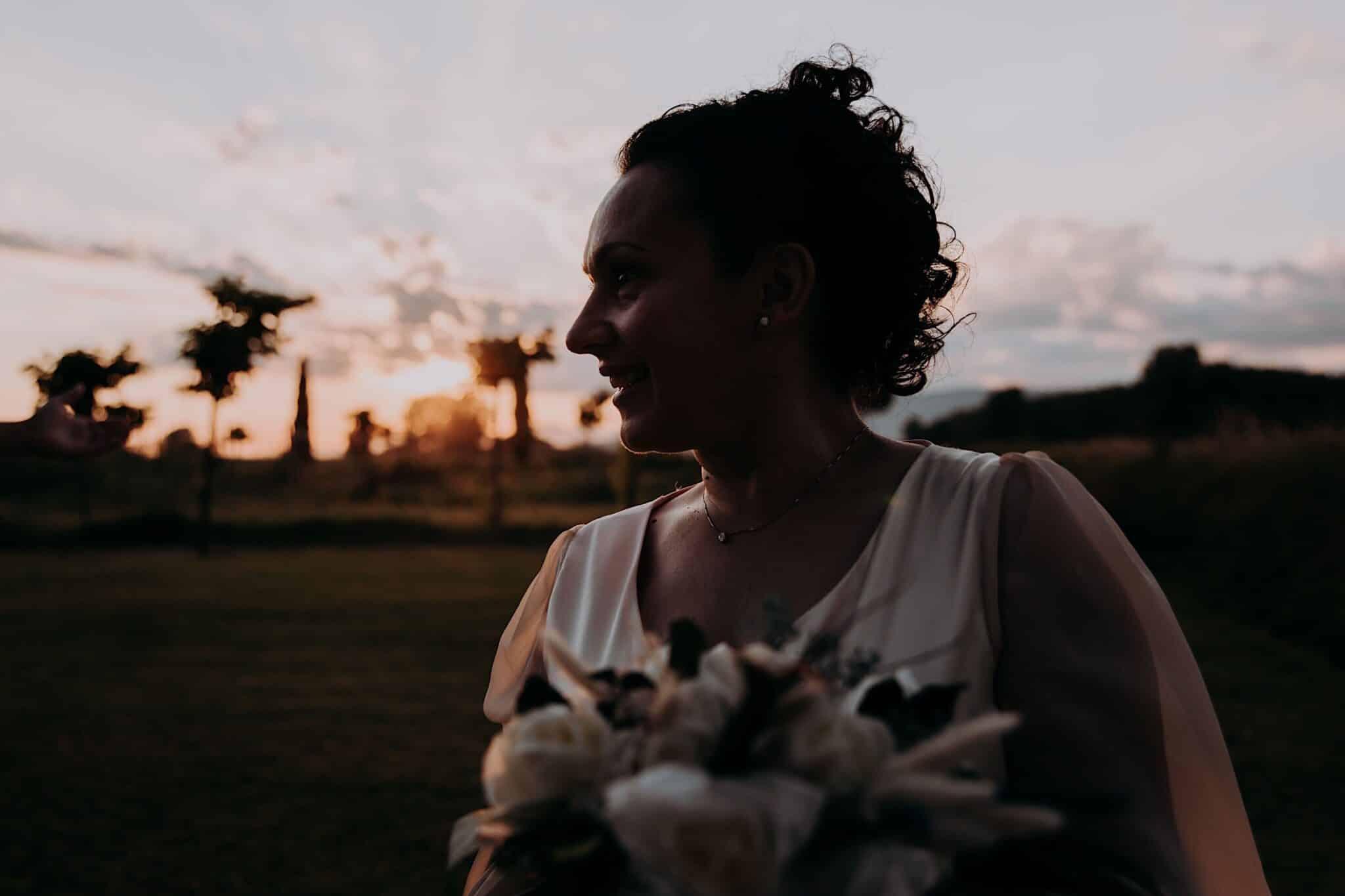 wedding portrait in Tuscany