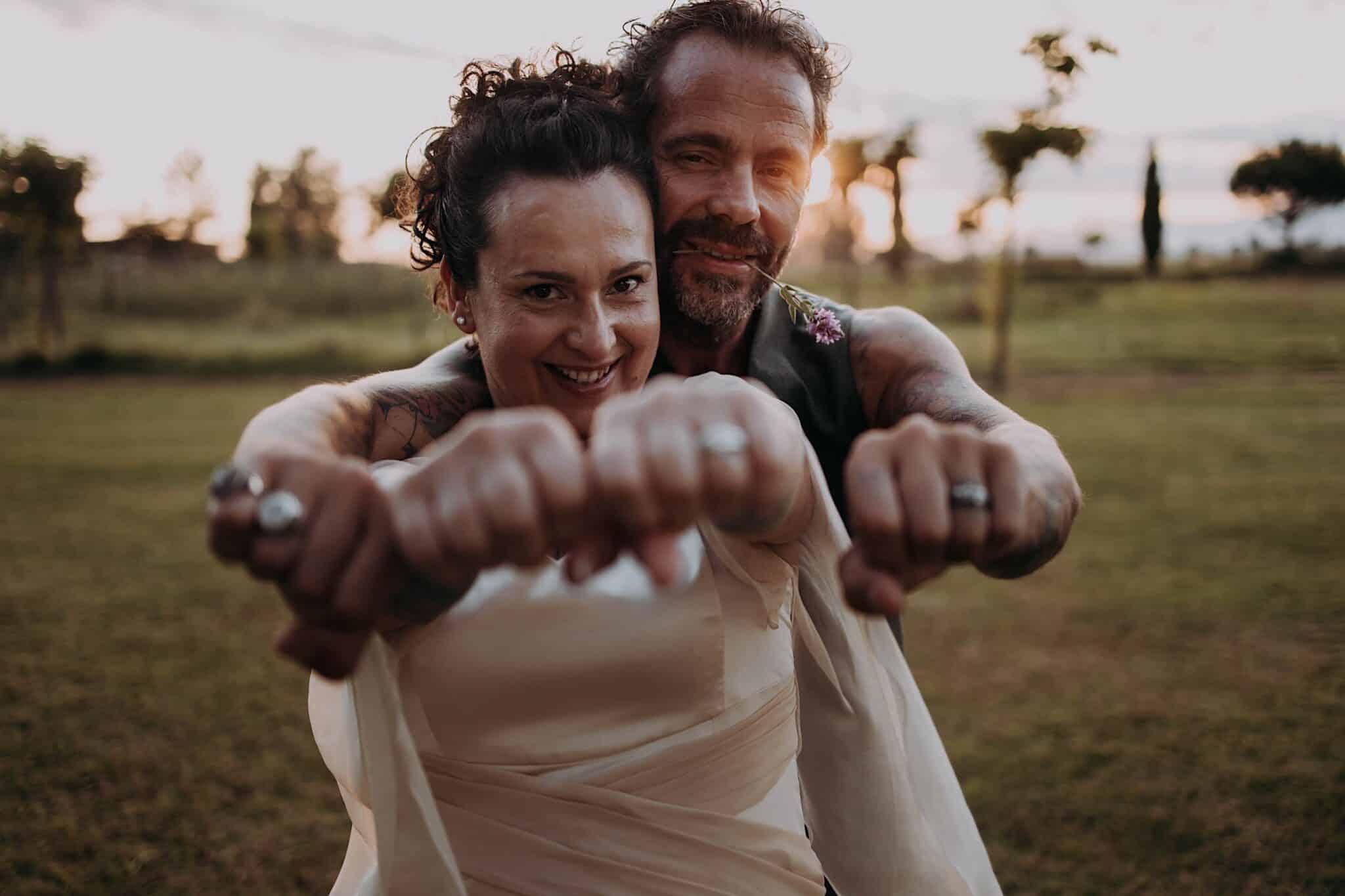 matrimonio in stile country