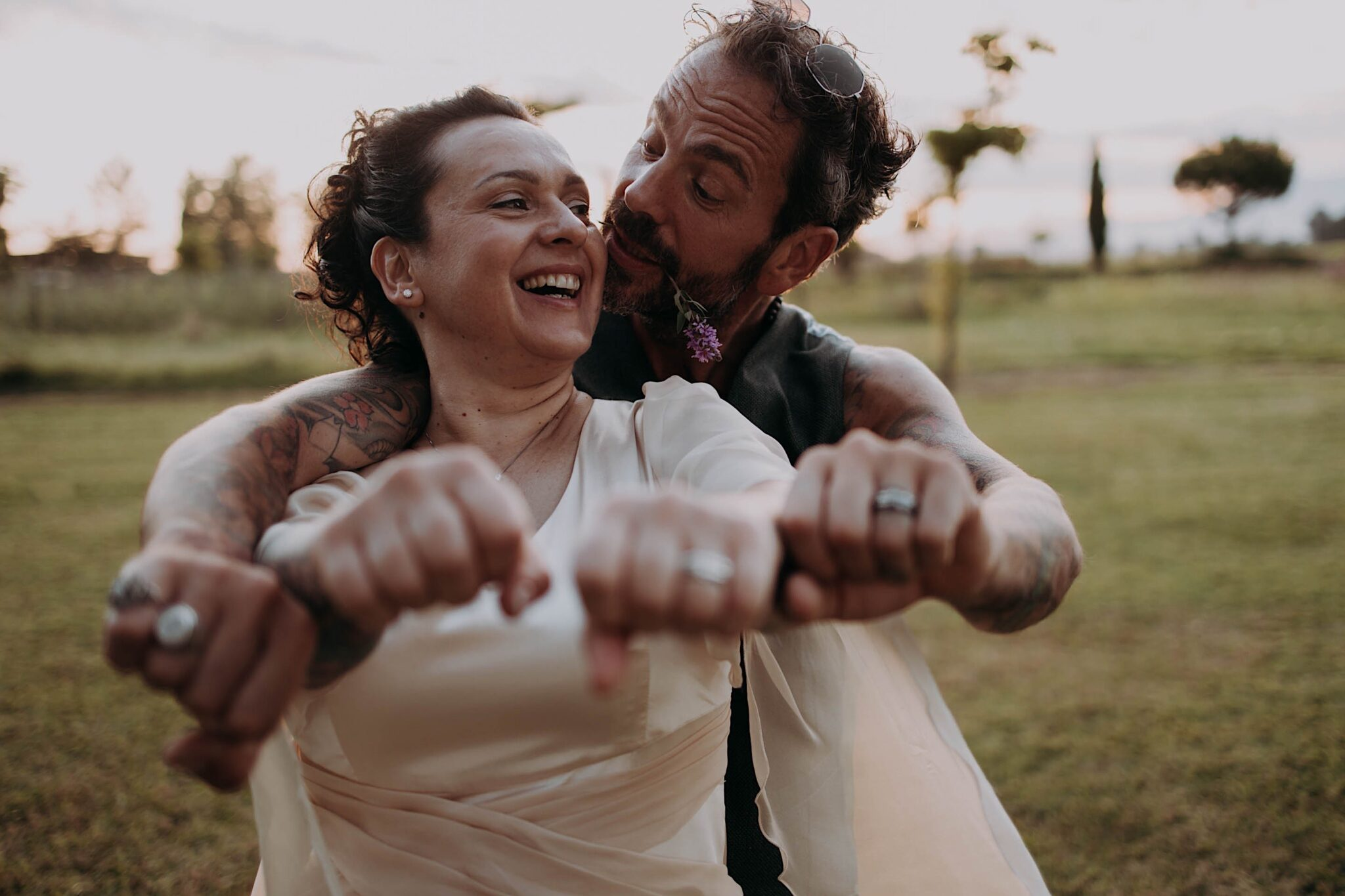 country style wedding in Tuscany
