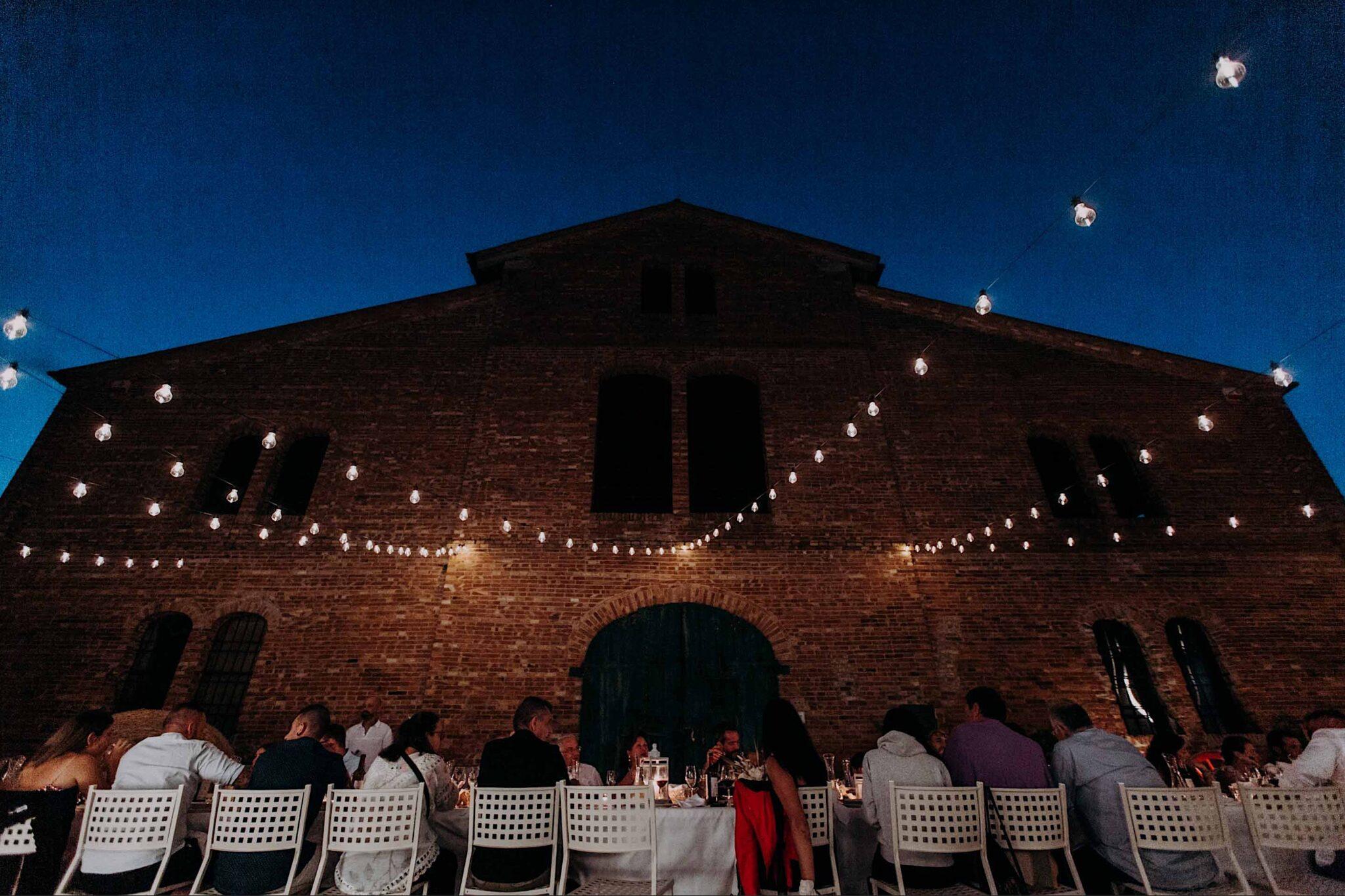 matrimonio sotto le stelle in Toscana