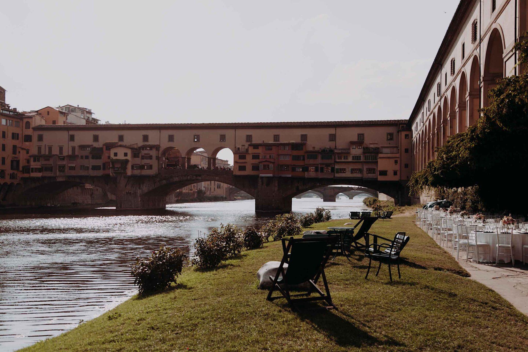 allestimento catering, alla società Canottieri Firenze