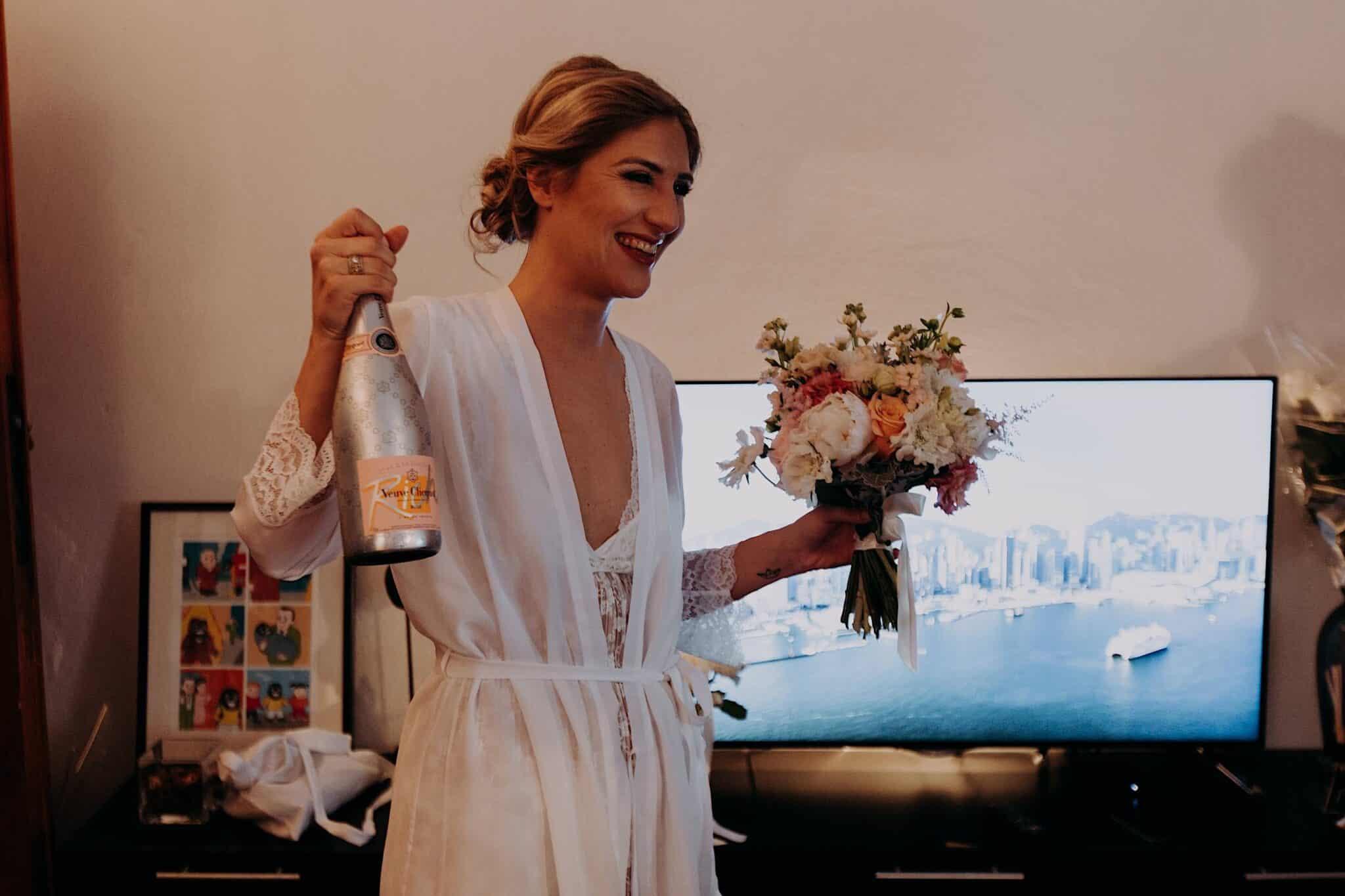 il brindisi della sposa