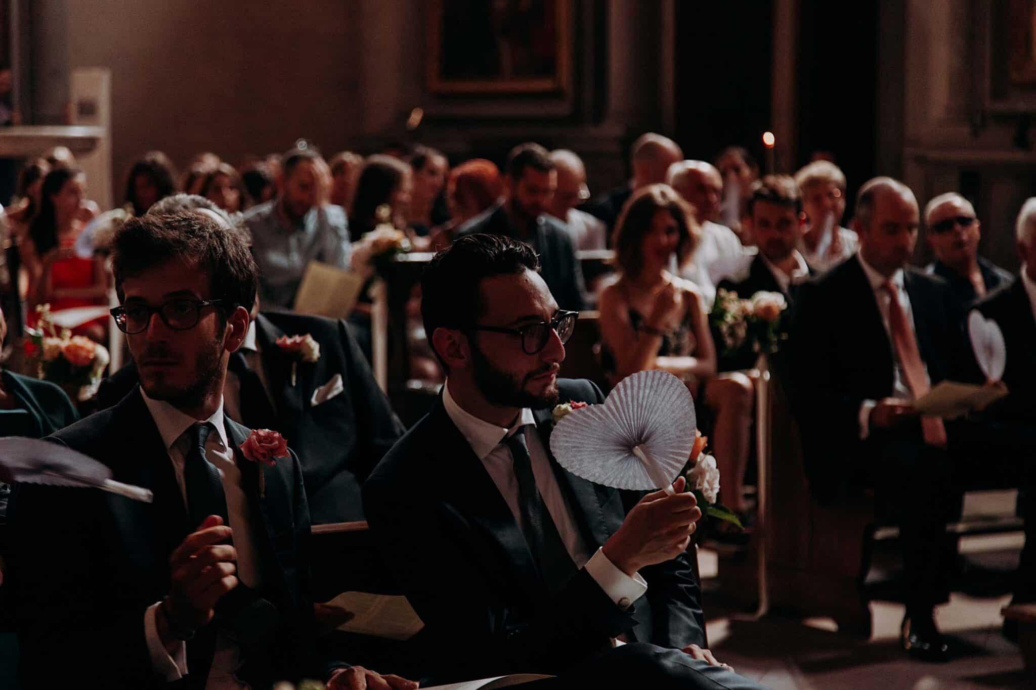 invitati nella chiesa di San Niccolò Sopr'Arno