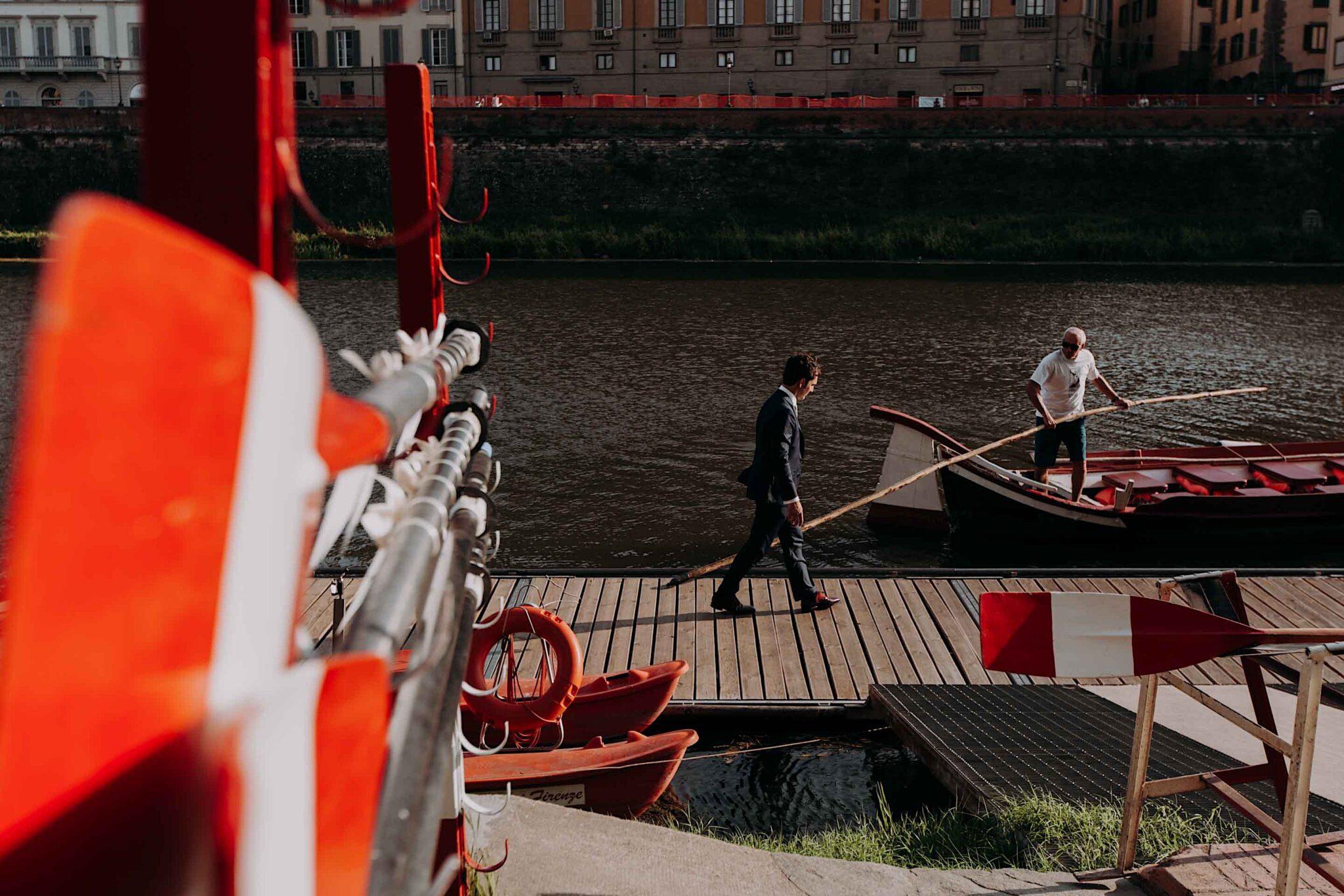 Lungarno, società dei Canottieri Firenze